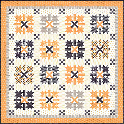 June/19 - All Hallows Eve Quilt Kit