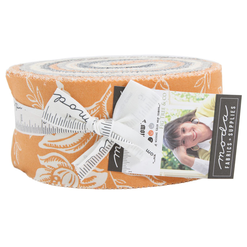 Moda Jelly Roll - All Hallows Eve by Fig Tree Quilts