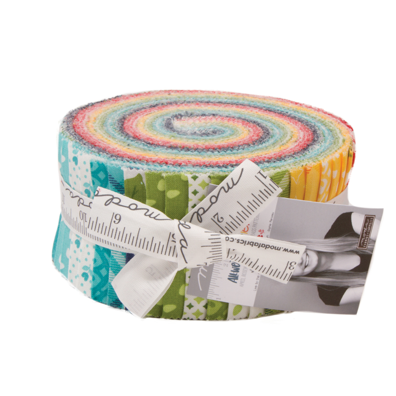 Moda Jelly Roll - All Weather Friend by April Rosenthal