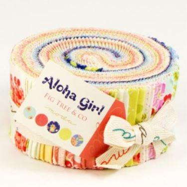 Moda Jelly Roll - Aloha Girl by Fig Tree & Co