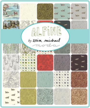 Moda Fat Quarter Bundle - Alpine by Erin Michael