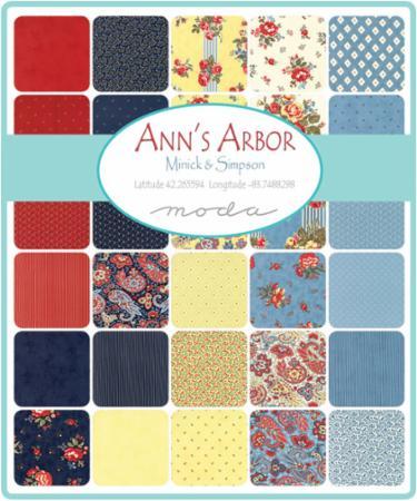 August/17 - Ann's Arbor Charm Pack
