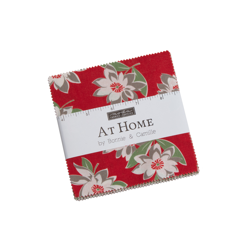 Moda Charm Pack - At Home RED by Bonnie & Camille