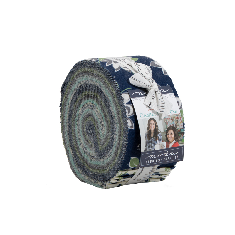 Moda Jelly Roll - At Home BLUE by Bonnie & Camille