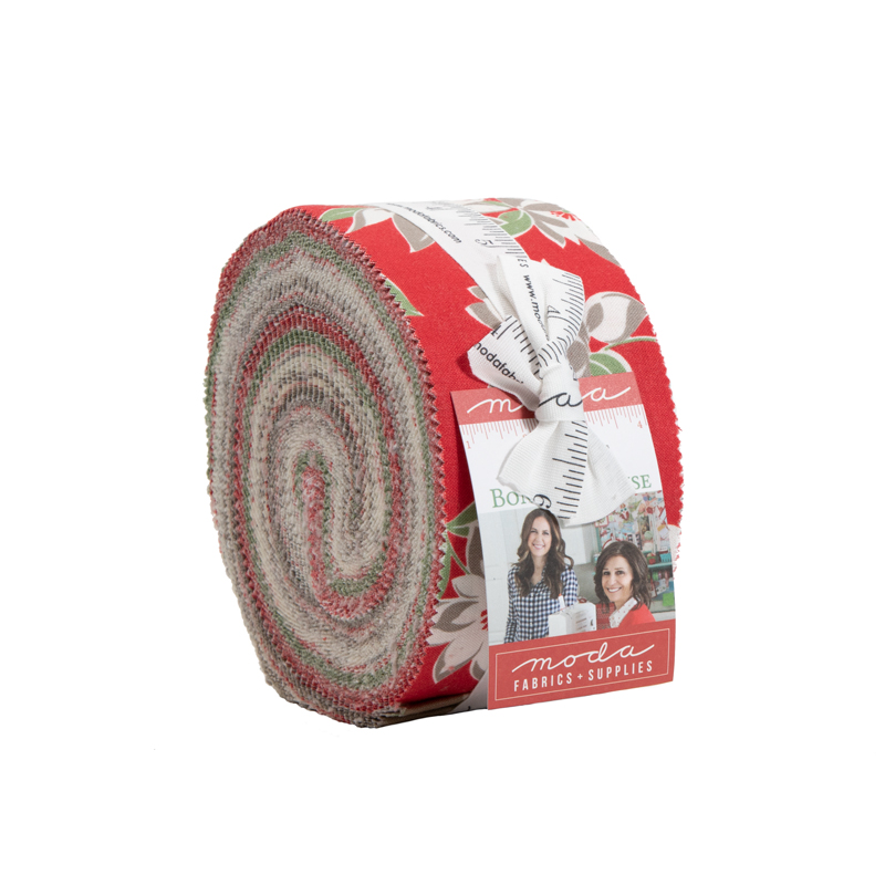 Moda Jelly Roll - At Home RED by Bonnie & Camille