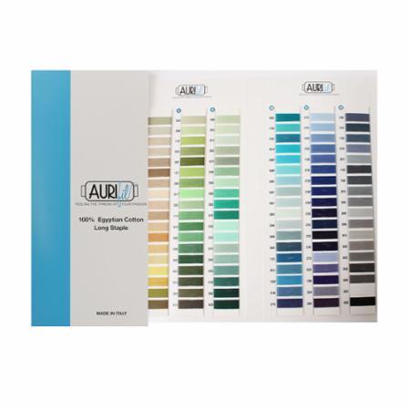 Cotton Color Aurifil Chart
