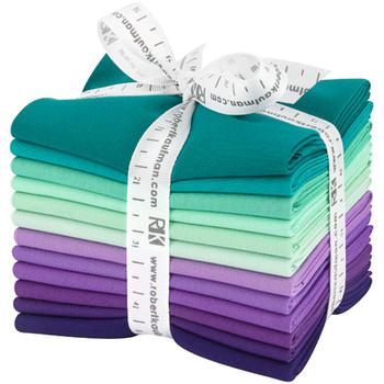 Robert Kaufman Fat Quarter Bundle - Aurora Palette