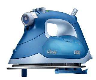 Auto Lift Micro Fine Iron Oliso Blue
