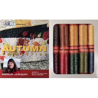 Autumn 50wt Aurifil 10 Spools