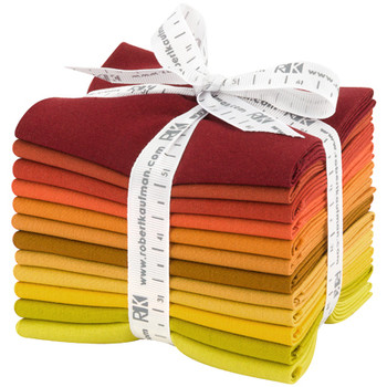Robert Kaufman Fat Quarter Bundle - Autumn Hues Palette