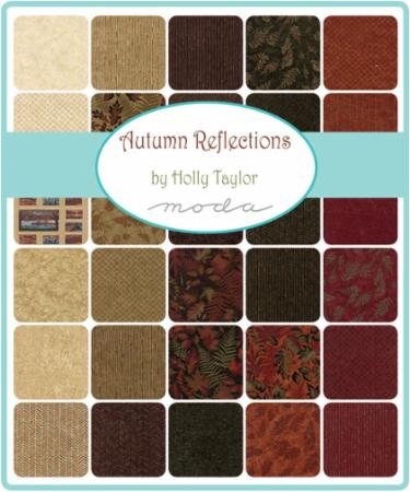 Moda Fat Eighth Bundle - Autumn Reflections by Holly Taylor