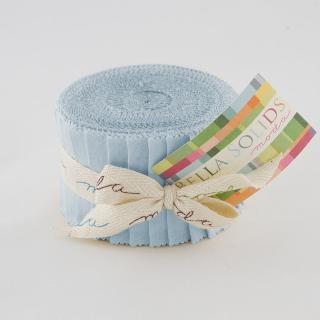 Solids Junior Jelly Roll - Baby Blue 9900 32
