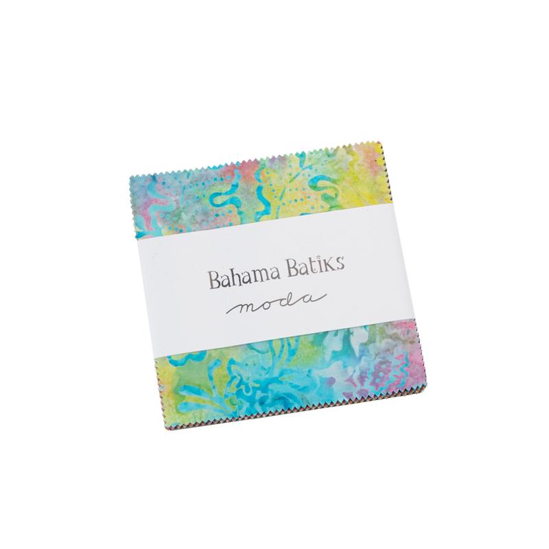 Moda Charm Pack - Bahama Batiks by Moda