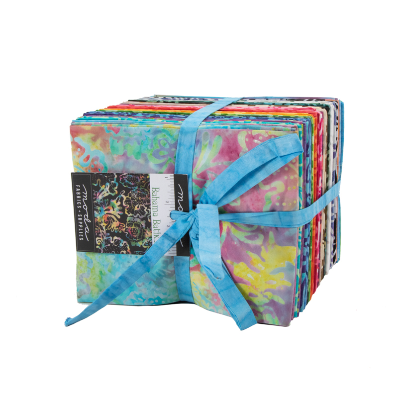 Moda Fat Quarter Bundle - Bahama Batiks by Moda