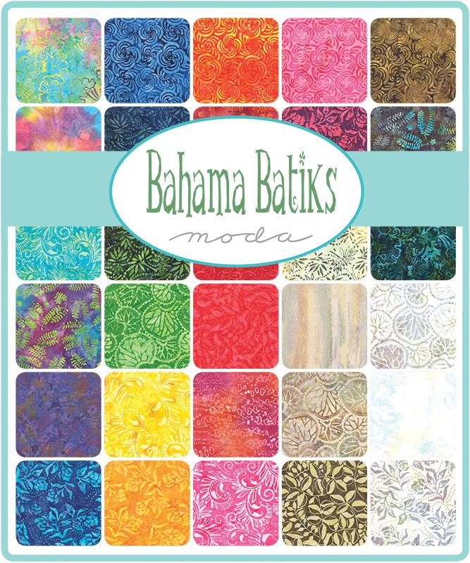 Moda Fat Quarter Bundle - Bahama Batiks by Moda