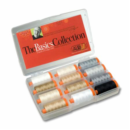 Basics Collection 50wt Aurifil 12 Large Spools