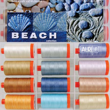 Beach Collection by Sheena Norquay 50wt Aurifil