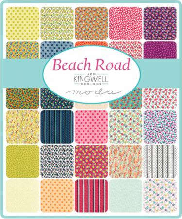 April/18 - Beach Road Charm Pack