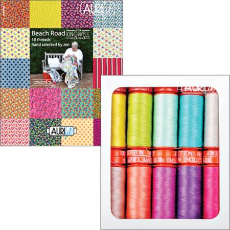 Beach Road Collection Aurifil Spools