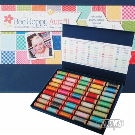 Bee Happy Collection 45 Spools Aurifil