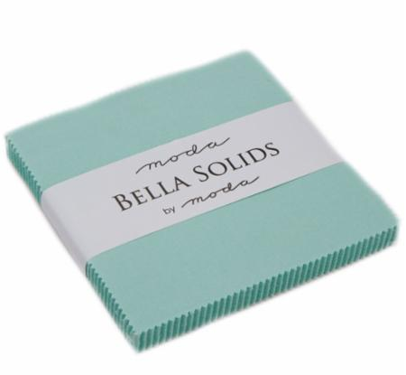 Solids Charm Pack - Aqua 9900 34
