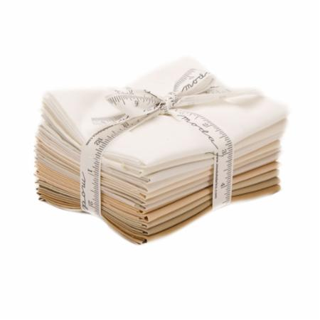 Moda Fat Quarter Bundle - Bella Solids Lights