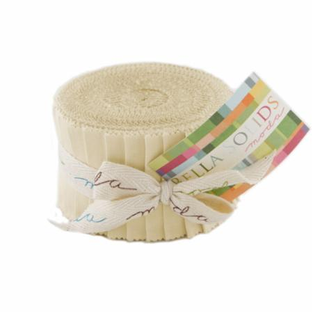 Solids Junior Jelly Roll - Natural 9900 12