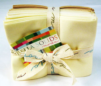 Moda Fat Quarter Bundle - Bella Solids Neutral
