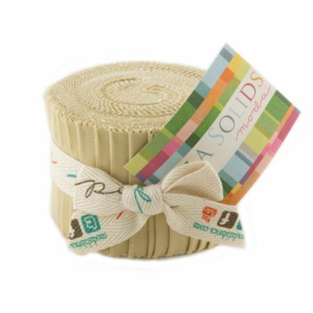 Solids Junior Jelly Roll - Parchment 9900 39