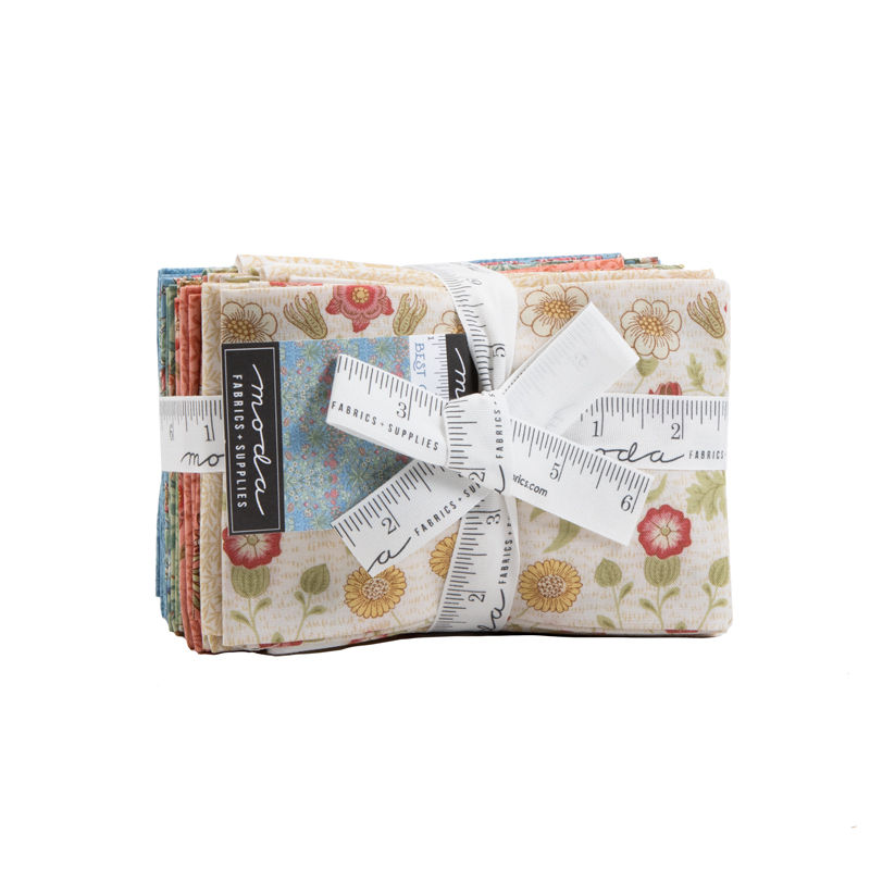 Moda Fat Eighth Bundle - Best Of Morris SPRING by Moda