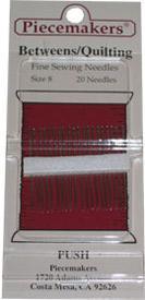 Piecemakers Betweens Needles Size 8