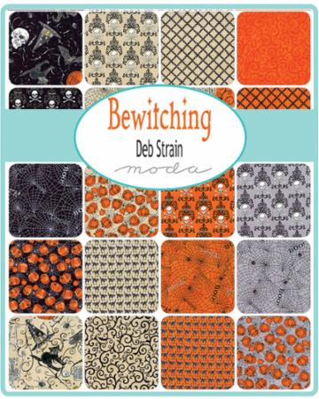 Moda Fat Quarter Bundle - Bewitching by Deb Strain