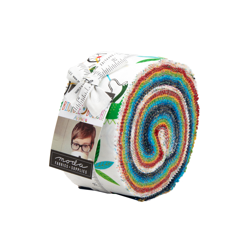 Moda Jelly Roll - Bicycle Bunch by Abi Hall