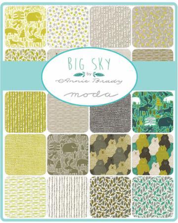 Moda Jelly Roll - Big Sky by Annie Brady