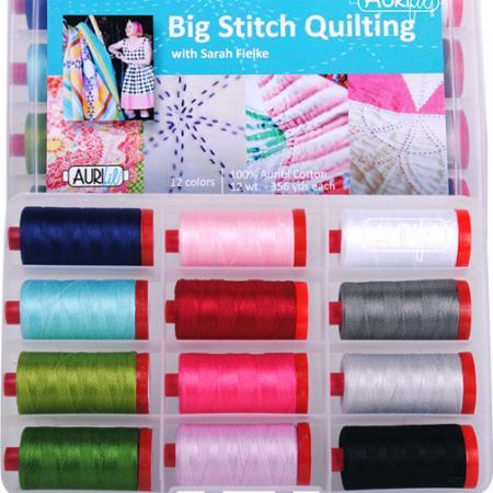 Big Stitch Quilting 12wt Aurifil Large Spools
