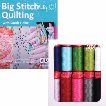 Big Stitch Quilting 12wt Aurifil Small Spools