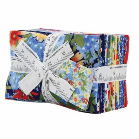 Moda Fat Eighth Bundle - Bluebonnet Patch by Moda