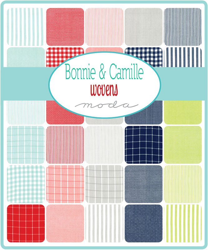 Moda Fat Quarter Bundle - Bonnie & Camille Wovens