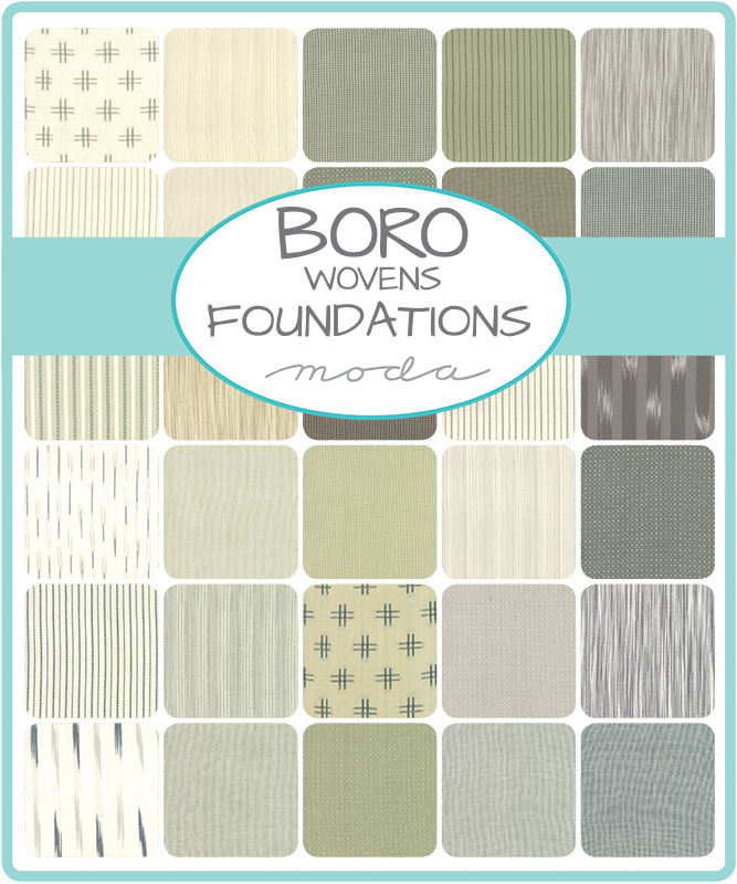Moda Charm Pack - Boro Woven Foundations by Moda