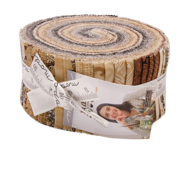 Moda Jelly Roll - Brew by Deb Strain