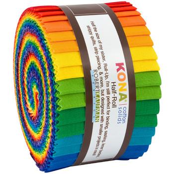 Robert Kaufman Junior Roll - Bright Rainbow Palette