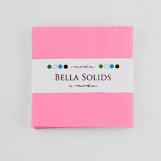 Solids Charm Pack - Bella Solids 30's Pink 9900 27