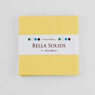 Solids Charm Pack - Bella Solids 30's Yellow 9900 23S