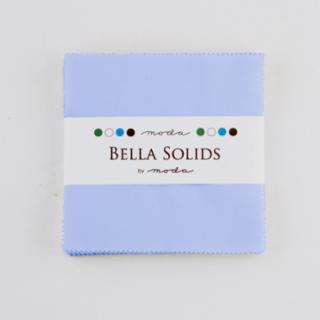 Solids Charm Pack - Bella Solids Baby Blue 9900 32