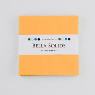 Solids Charm Pack - Bella Solids Cheddar 9900 152