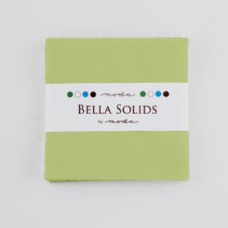 Solids Charm Pack - Bella Solids Clover 9900 73