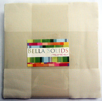Moda Bella Solids Layer Cake - Natural (9900-12)