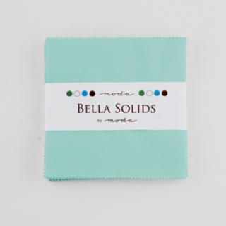 Solids Charm Pack - Bella Solids Egg Blue 9900 85