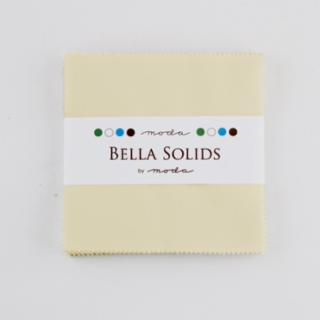 Solids Charm Pack - Bella Solids Fig Tree Cream 9900 67