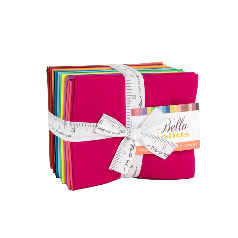 Moda Fat Quarter Bundle - Bella Solids 2020